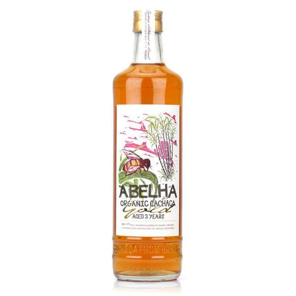 Abelha Cachaça bio du Brésil Abelha Gold Organic 39% - Bouteille 70cl