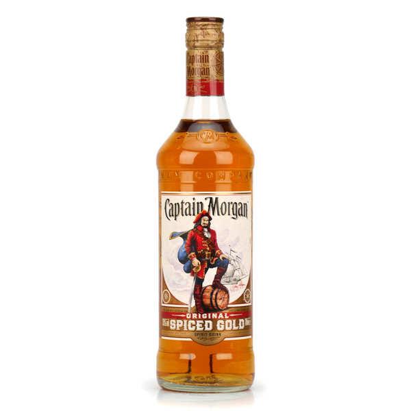 Captain Morgan Rhum Captain Morgan® - Spiced Rum des Caraïbes 35% - Bouteille 70cl
