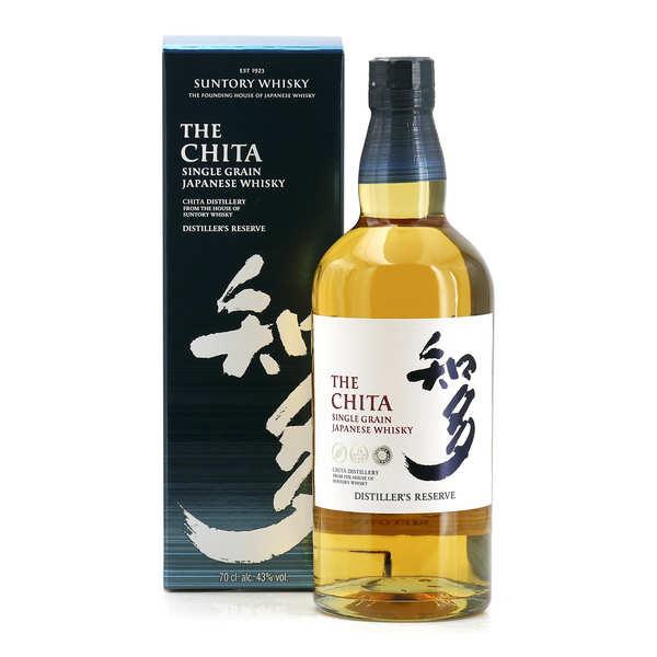 Suntory Whisky japonais The Chita single grain 43% - Bouteille 70cl en étui