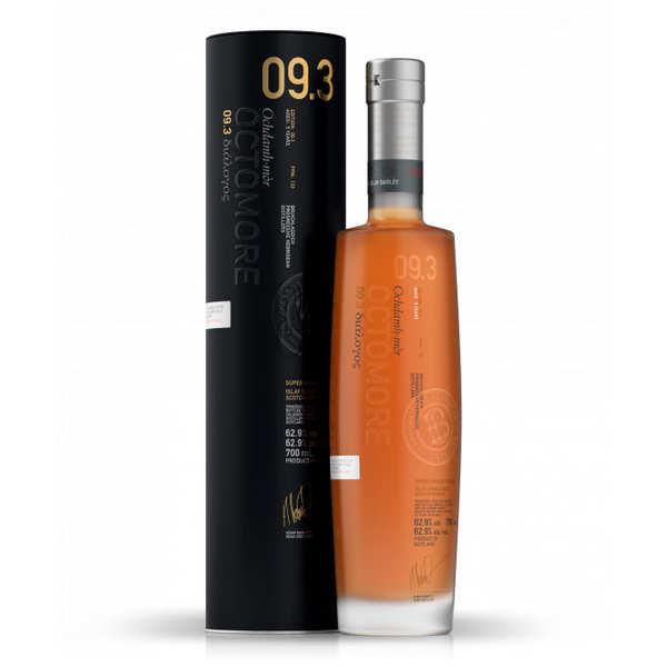Bruichladdich Whisky Octomore Dialogos 9.3 (133 ppm de tourbe) 62.9% - Bouteille 70cl en étui
