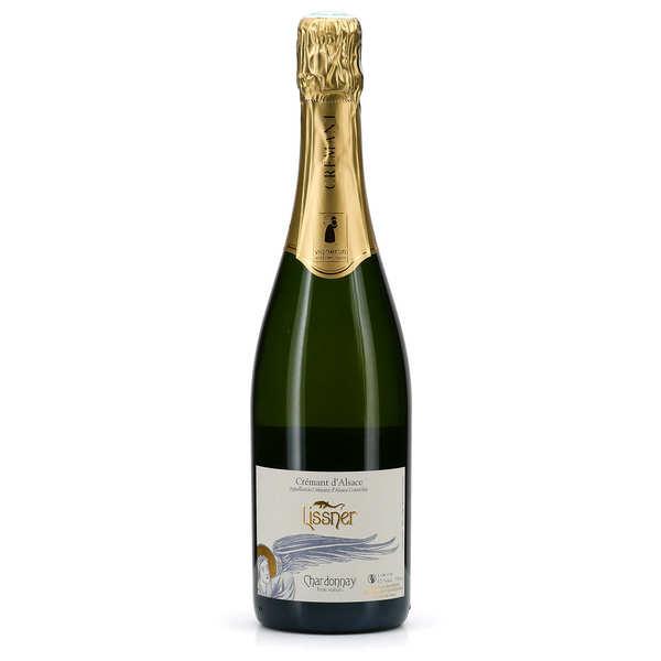 Lissner Crémant d'Alsace 'Chardonnay' - bio et sans sulfites ajoutés - Bouteille 75cl - 2016