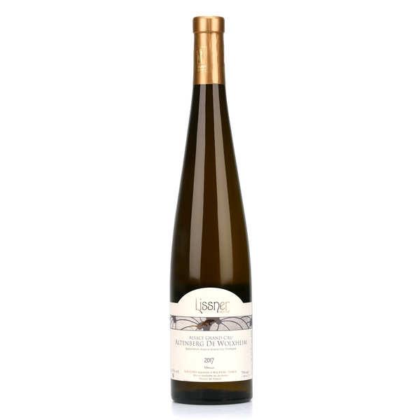 Lissner Muscat d'Alsace Grand Cru - bio et sans sulfites ajoutés - Lot de 12 bouteilles 75cl - 2017