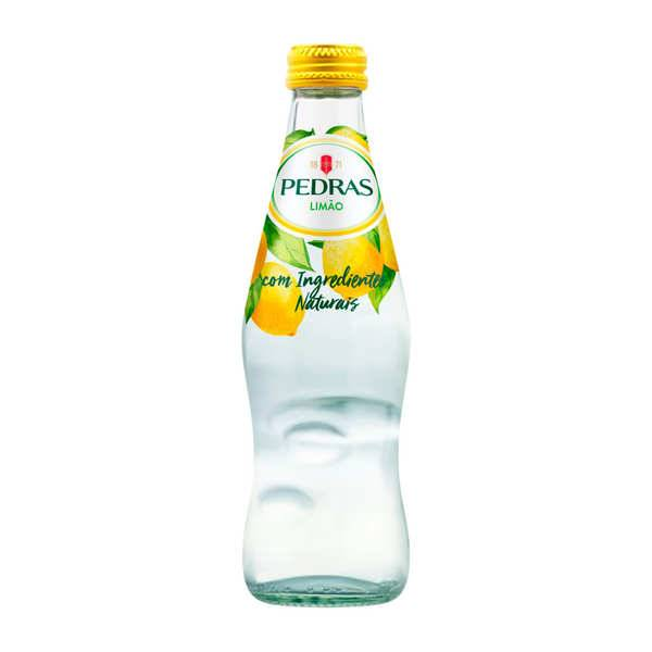Pedras Salgadas Pedras Limao - Eau gazeuse du Portugal au citron - Pack de 4 bouteilles de 25cl