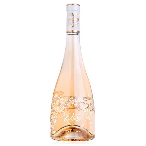 Château Roubine La Vie en Rose de Château Roubine - Vin rosé bio AOC Côtes de Provence - 2020 - Bouteille de 75cl
