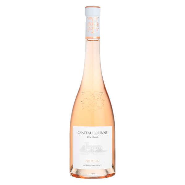 Château Roubine Cuvée Premium vin Rosé - Cru Classé Côtes de Provence Bio - 2018 - Bouteille 75cl