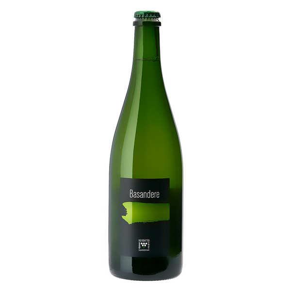 Bordatto Cidre basque fermier 'Basandère' - Demi sec 6% - 2019 - Lot de 3 bouteilles de 75cl