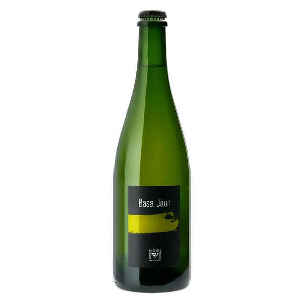 Bordatto Cidre basque fermier 'Basajaun' - Brut 6.5% - 2018 - Lot 6 bouteilles 75cl