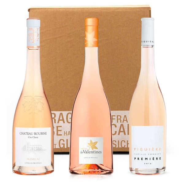 BienManger.com Box 3 vins rosés bio - 3 bouteilles de 75cl