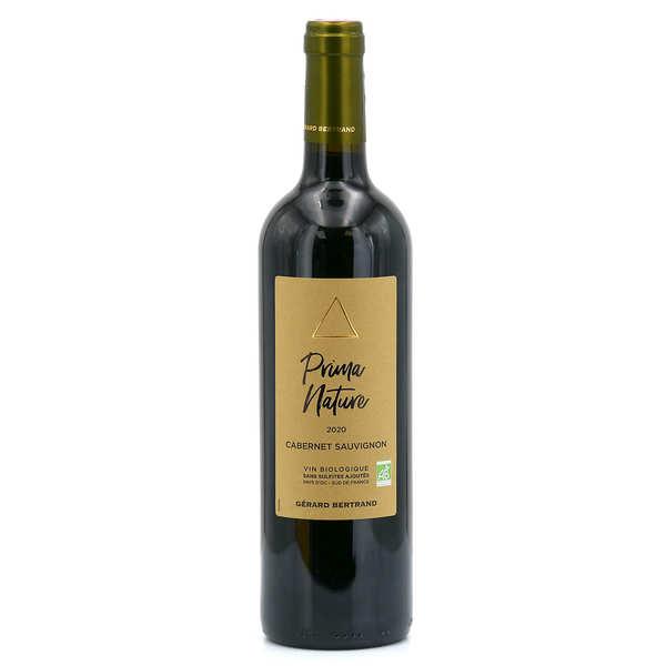 Gerard Bertrand Prima nature cabernet sauvignon vin rouge bio et sans sulfites ajoutés - 2019 - Lot 6 bouteilles 75cl