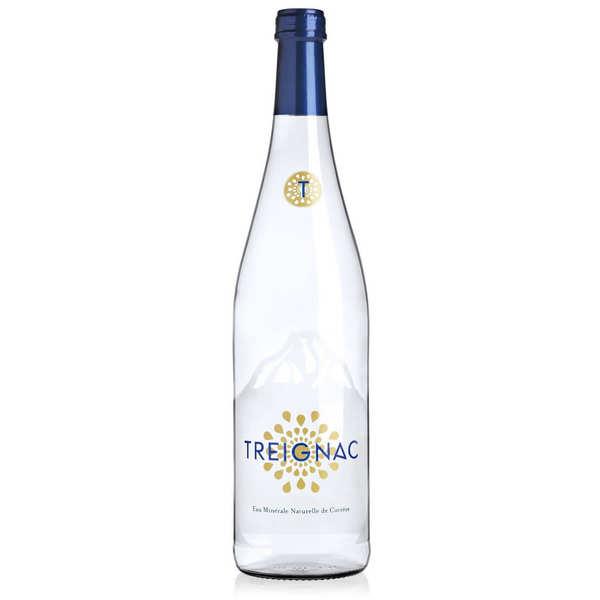 Treignac Eau de Treignac - Eau minérale plate de Corrèze - 6 bouteilles verre 75cl
