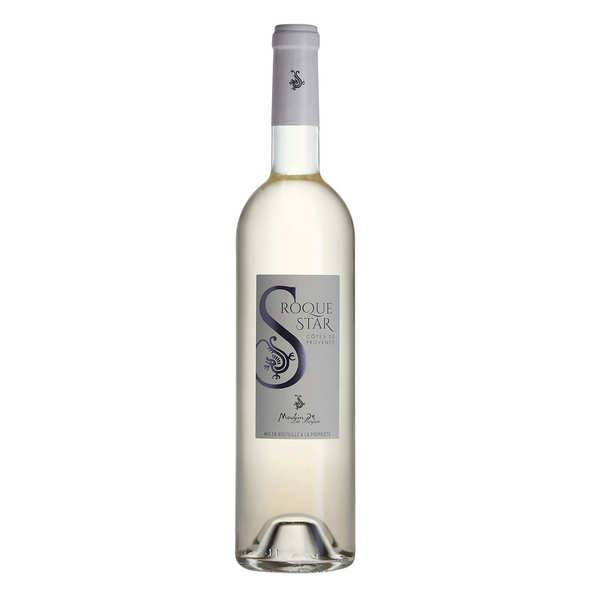 Moulin de la Roque - Roque Star - Côte de Provence vin blanc - 2018 - 6 bouteilles 75cl