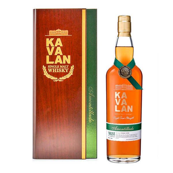 Kavalan Amontillado Cask - whisky taïwanais 55,6% - Bouteille 70cl en coffret bois