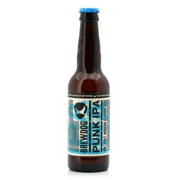 Brasserie Brewdog Brewdog Punk IPA - Bière écossaise 5.6% - 12 bouteilles de 33cl