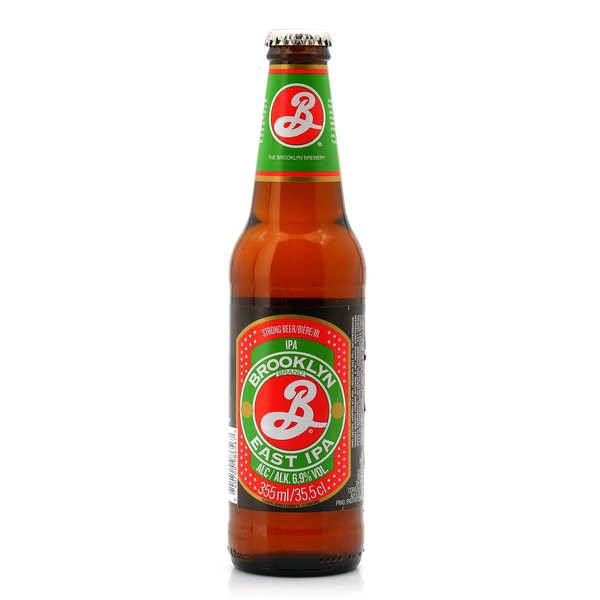 Brooklyn Brewery Brooklyn East IPA - Bière américaine 6.9% - 6 bouteilles de 35.5cl
