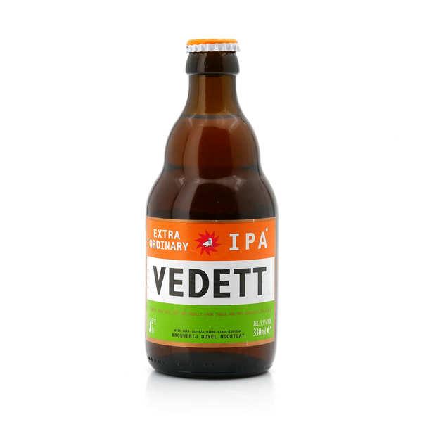 Brasserie Duvel Vedett IPA - Bière blonde belge 5.5% - 24 bouteilles de 33cl