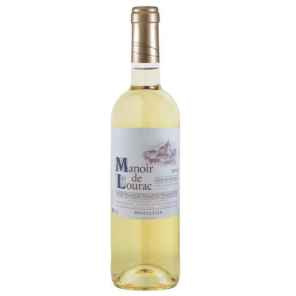 Manoir de Lourac Côtes de Bergerac vin blanc moelleux - 2018 - bouteille 37.5cl