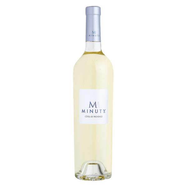 Minuty S.A. M de Minuty vin blanc - Côtes de Provence AOP - 2018 - Bouteille 75cl