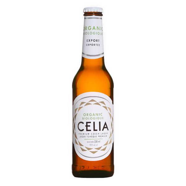 Celia lager Bière premium Tchèque Celia bio sans gluten - Lot 6 bouteilles de 33cl