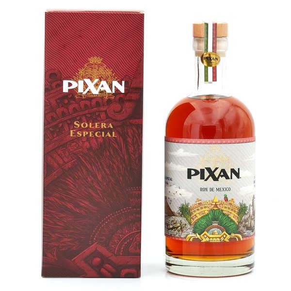Pixan Rum de Mexico Rhum du Mexique Pixan 6 Solera Wine Finish - 40° - Bouteille 70cl avec étui