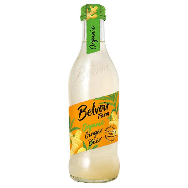 Belvoir Pressé au gingembre - Ginger Beer bio - Lot de 12 bouteilles 25cl