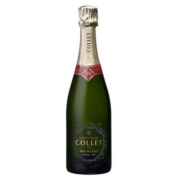 Champagne Collet Brut Art Déco Premier Cru en Magnum - Magnum 1.5L