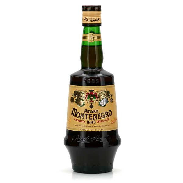 Montenegro amaro - amer 23% - Bouteille 70cl avec un verre
