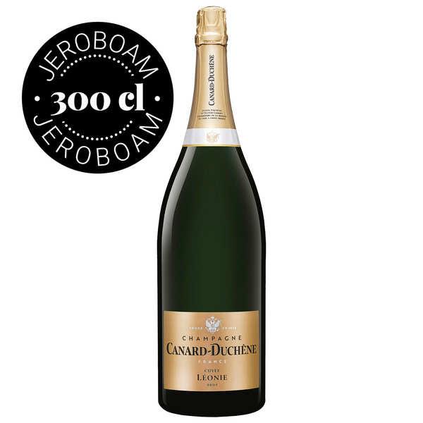 Champagne Canard-Duchêne Champagne Canard Duchêne Cuvée Léonie Brut - Jeroboam - Jeroboam 3L