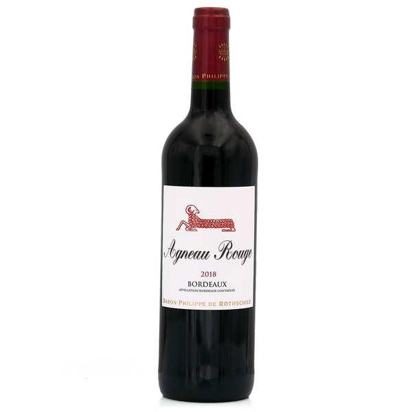 Baron Philippe de Rothschild Agneau Rouge Baron Philippe de Rothschild - Bordeaux vin rouge - 2019 - 6 bouteilles de 75cl