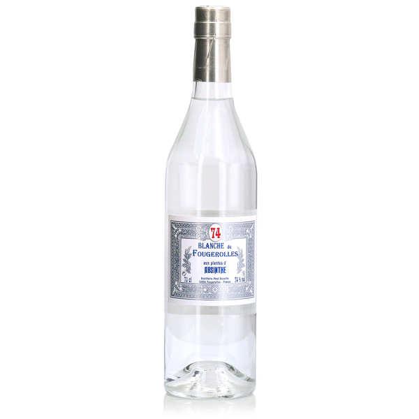 Distillerie Paul Devoille Blanche de Fougerolles aux plantes d'absinthe 74% - Bouteille 70cl