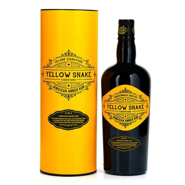 Rum Signature Collection Yellow Snake - Rhum de Jamaïque 40% - Bouteille 70cl