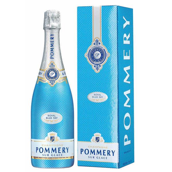 Pommery Champagne Blue Sky Pommery - Bouteille 75cl en étui