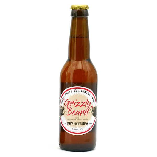 CRAFT HOME BREWERS Grizzly Beard - Bière Dry Hopped IPA 6.6% - Bouteille 33cl