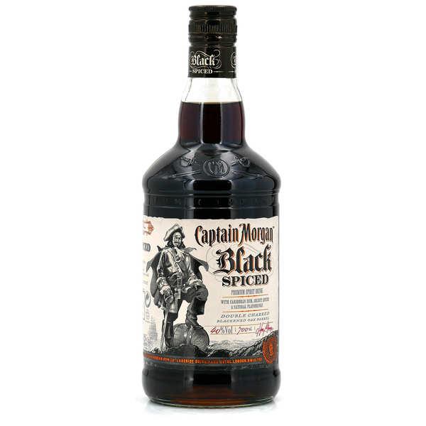 Captain Morgan Rhum Captain Morgan® - Black Spiced Rum des Caraïbes 35% - Bouteille 70cl