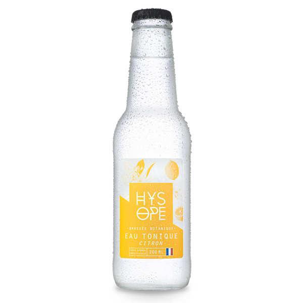 Hysope Tonic bio et français au citron de Sicile Hysope - 24 bouteilles de 20cl