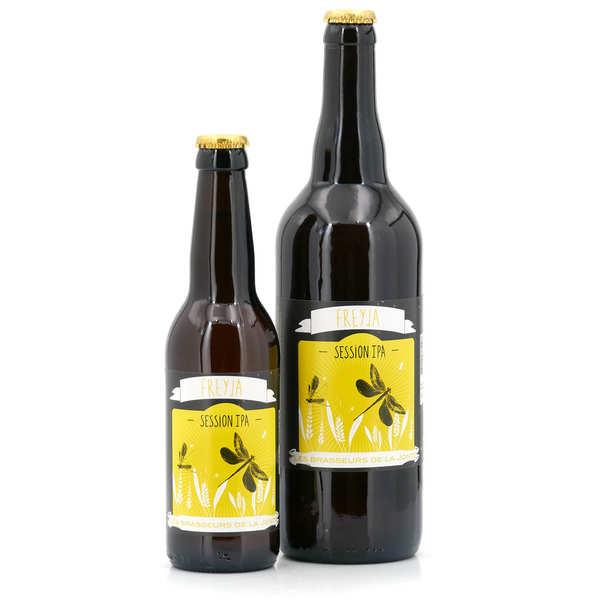 Les brasseurs de la Jonte Bière de Lozère Freya - IPA Blonde 4,5% - Lot de 3 bouteilles 33cl