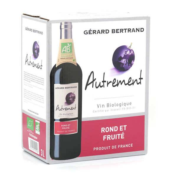 Gerard Bertrand Autrement - vin rouge bio en Bib 3L - Bag in Box 3L