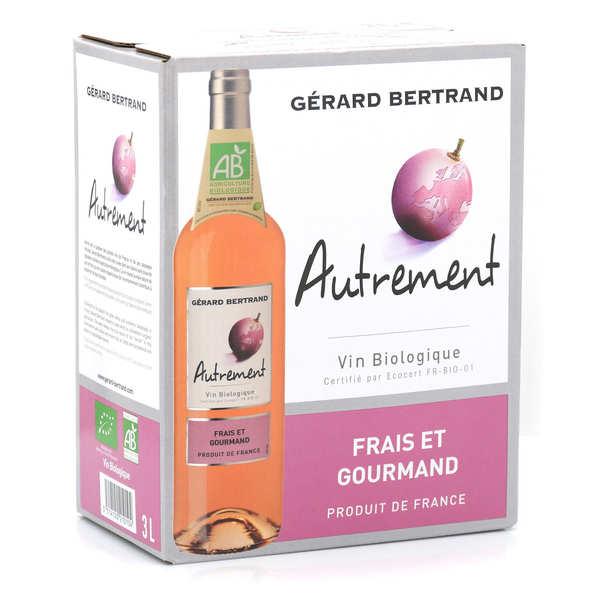 Gerard Bertrand Autrement vin rosé bio en Bib 3L - Bag in Box 3L x 4