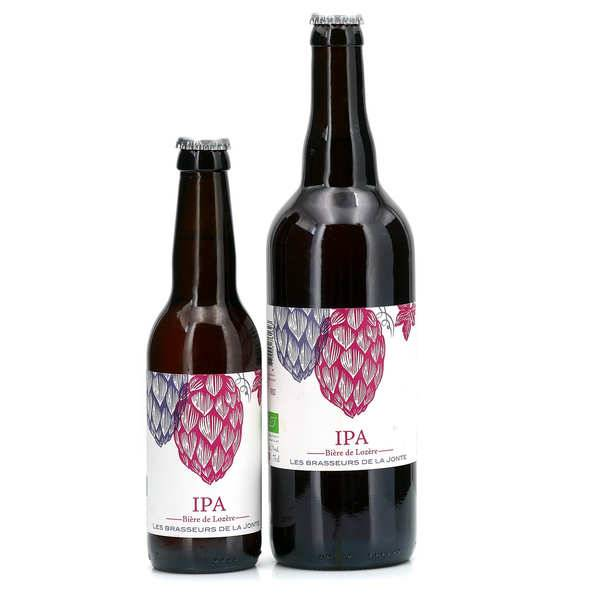 Les brasseurs de la Jonte Bière IPA bio de Lozère 5.5° - Lot de 12 bouteilles 33cl