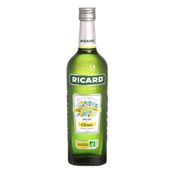 Ricard Bio Anis vert et citron - Bouteille 70cl