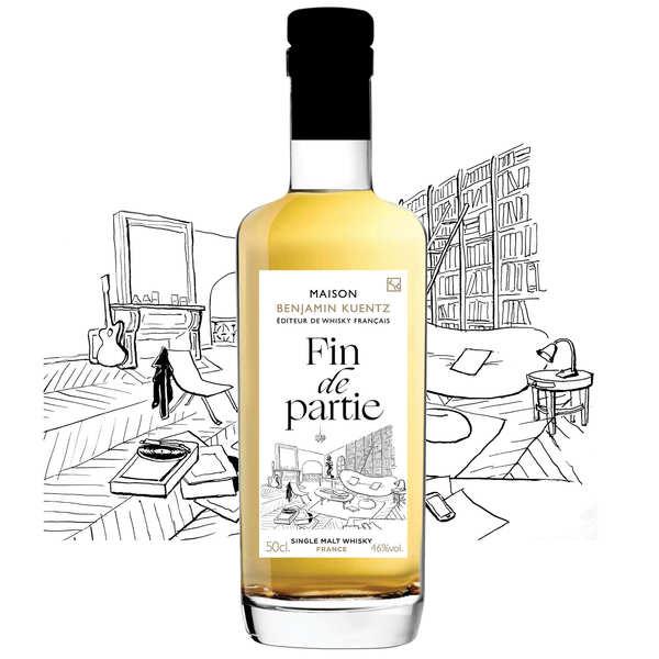 Maison Benjamin Kuentz Fin de Partie - Whisky Single Malt français 46% - Bouteille 50cl