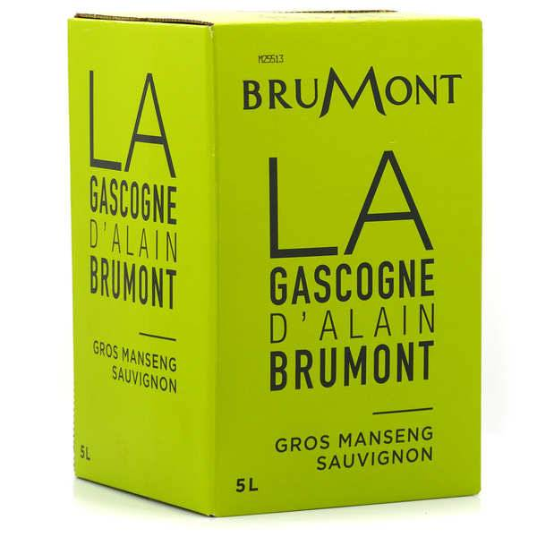 Vignobles Brumont Côtes de Gascogne IGP blanc sec Brumont en Bib 5L - Bag in Box 5L