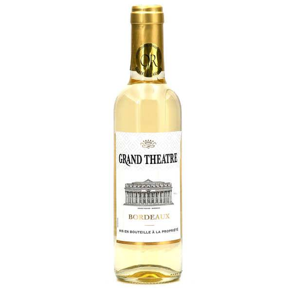 Le Grand Humeau Bordeaux vin blanc moelleux Grand Théâtre - 2018 - Lot de 6 Bouteilles 75cl