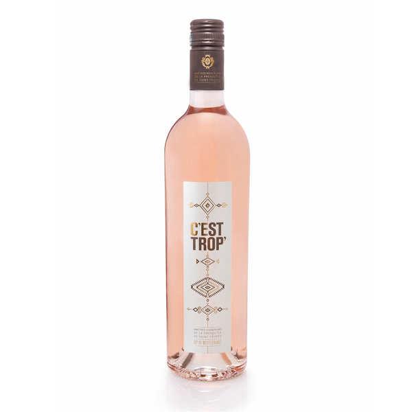 Maîtres Vignerons de la Presqu'Île de Saint-Tropez C'est trop' - Vin rosé IGP Méditerranée - 2020 - Lot 6 bouteilles 75cl