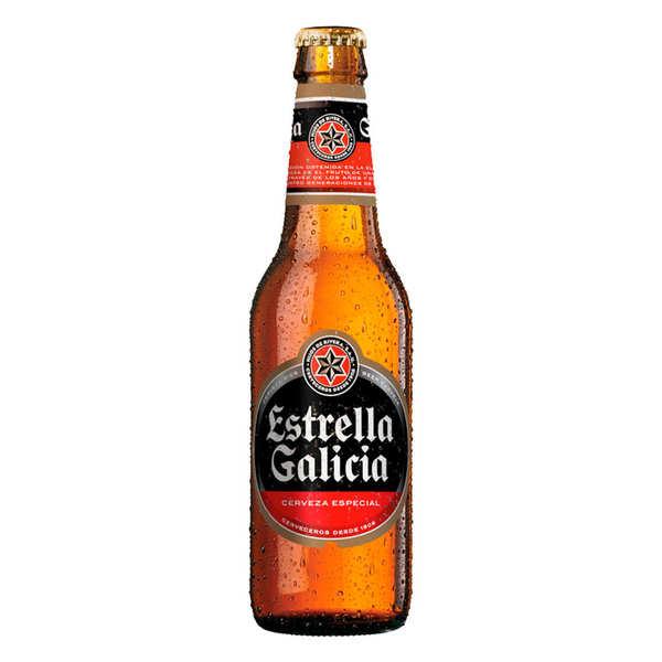 Estrella Galicia Especial - Bière blonde espagnole 5.5% - Bouteille 25cl