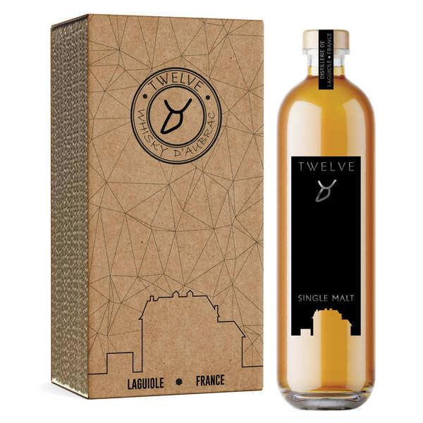 Twelve Whisky d'Aubrac Basalt - Premier Whisky d'Aubrac 48% - Bouteille 50cl