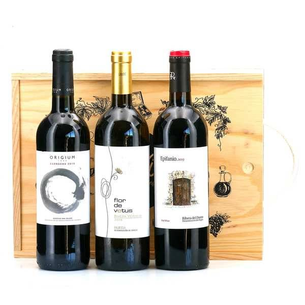 Bodegas Epifanio Rivera Assortiment de vins rouges espagnols - Assortiment de vins rouges espagnols