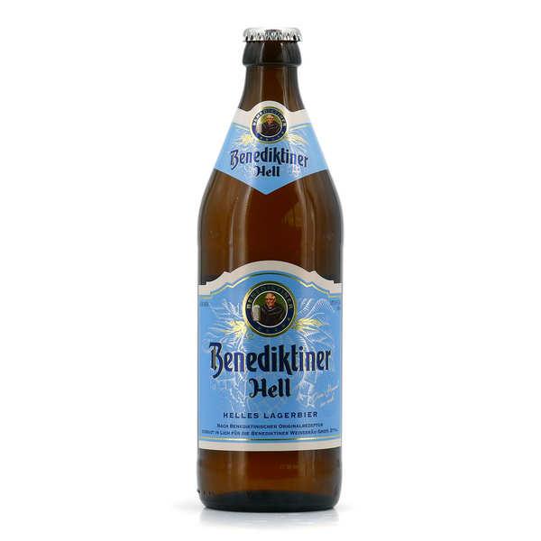 Blue Moon Brewery Benediktiner Hell - bière blonde allemande 5% - Bouteille de 50cl