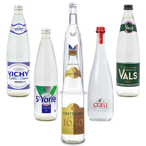 BienManger.com Offre découverte Eaux de France - Lot de 6 bouteilles - Lot 6 bouteilles de 75cl