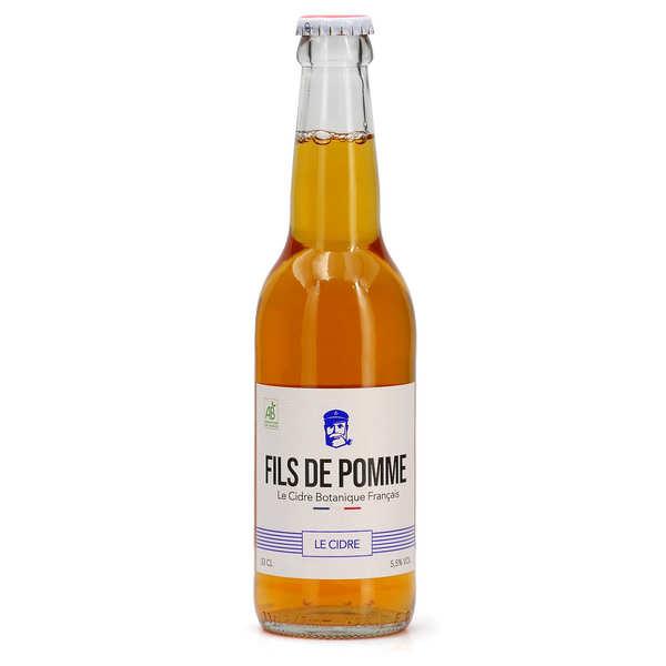 Fils de Pomme Cidre brut bio - Fils de Pomme - 6 bouteilles de 33cl