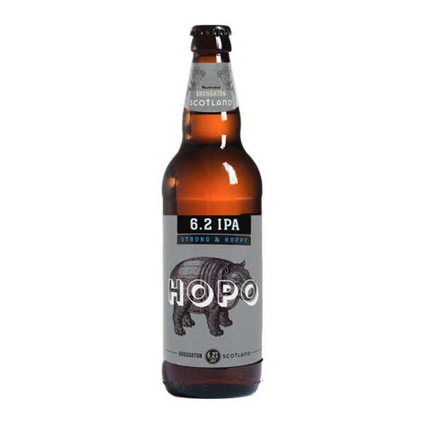 Broughton Ales Hopo 6.2 IPA Broughton Ales - Bière Ale Ecossaise (Lowlands) - 6,2% - 4 bouteilles de 50cl